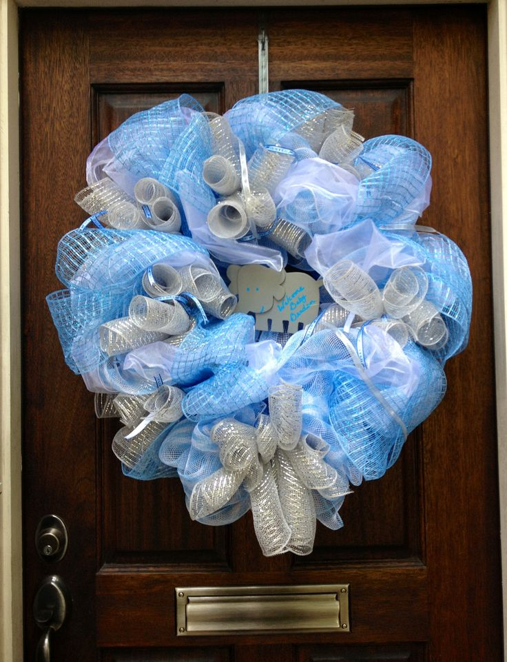 Baby Shower Wreath Images ~ Baby shower wreath feeling crafty pinterest