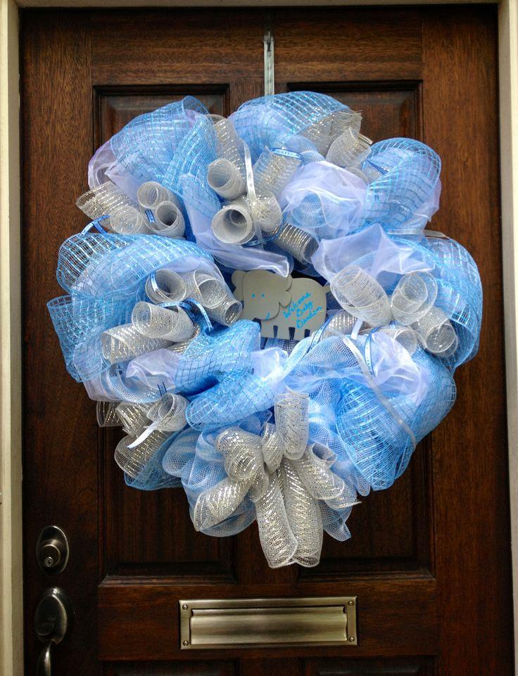 baby shower wreath feeling crafty pinterest