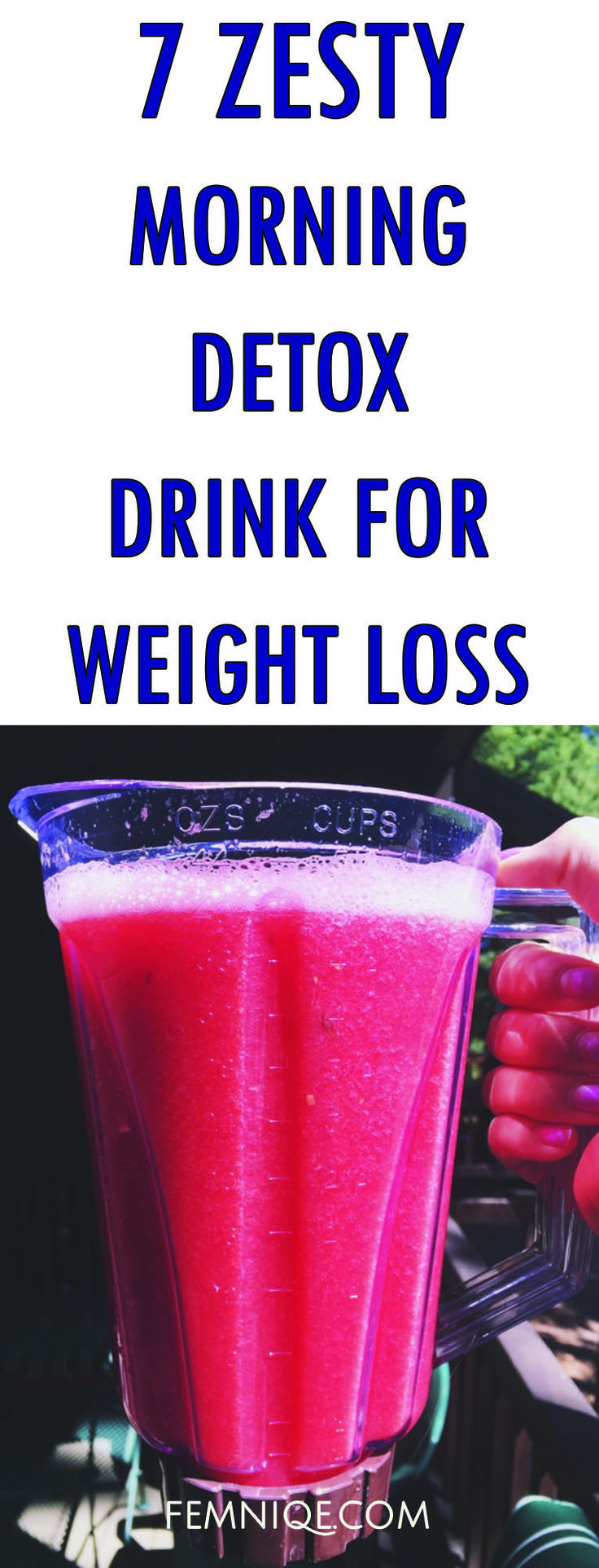 7 Zesty Morning Detox Drinks To Lose Weight