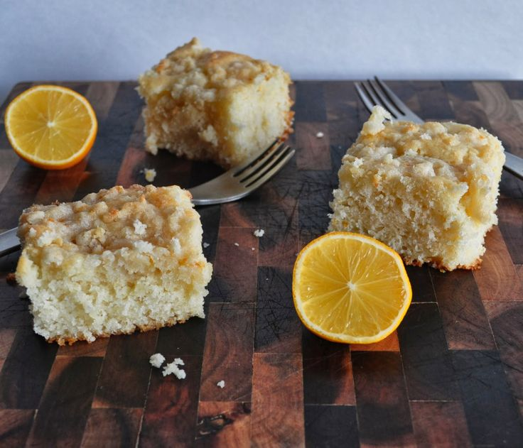 Meyer Lemon Coffee Cake - My Tiny Oven | From My Tiny Oven | Pinterest