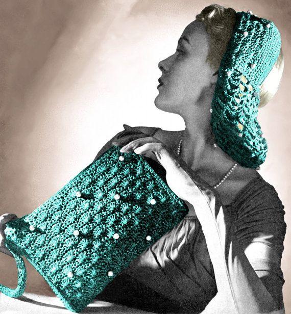Vintage Crochet Clutch Pattern : Vintage Patterns