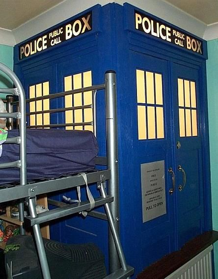 the nursery will have to have a TARDIS entrance to the walk-in-closet, or at the very least a TARDIS wardrobe.