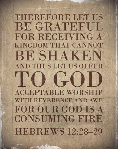 Hebrews 12:28-29   Hebrews   Pinterest