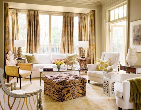 ANIMAL PRINT!!! I love anything and everything animal print and it is definitely a staple in my decor!!!