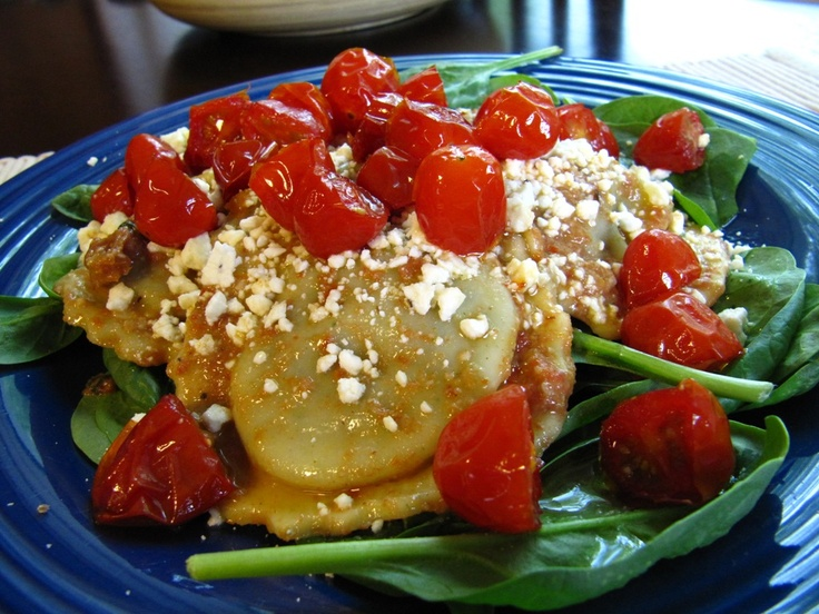 Red Pesto ravioli | Recipes - Pasta | Pinterest