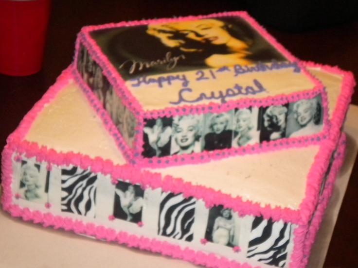 marilyn monroe cakes designs