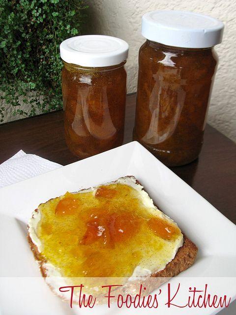Peach, Mango & Vanilla Jam by The Foodies Kitchen, via Flickr
