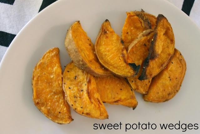 YUMMY baked sweet potato wedges!!!   FOOD   Pinterest