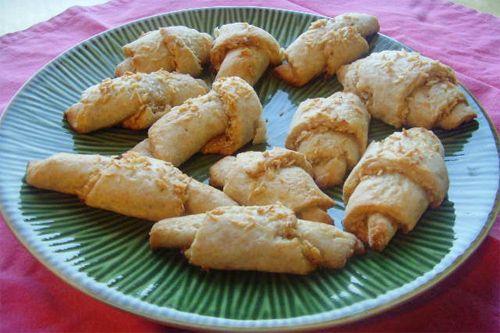 Gluten Free Coconut Mango Rugelach #glutenfree