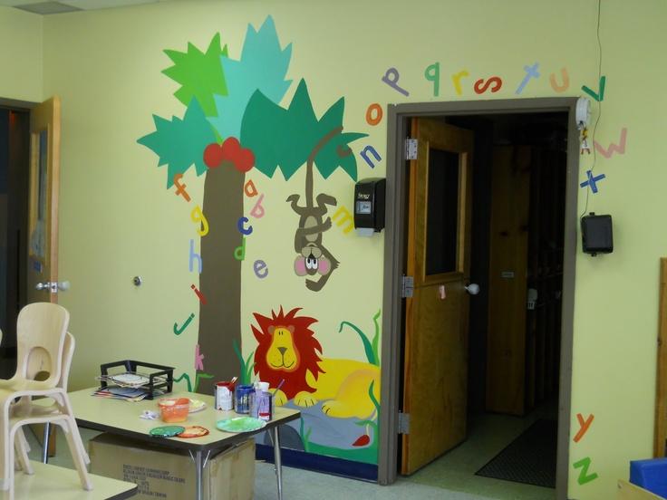 Pinterest for Classroom mural