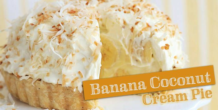 Banana Coconut Cream Pie | Recipes | Yummy.ph - the Philippine online ...