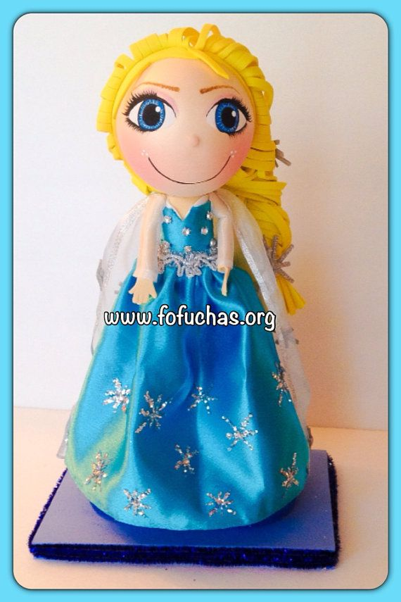 Disney Frozen Elsa Fofucha Doll on Etsy, $30.50 #Elsa #Frozen #Birthday