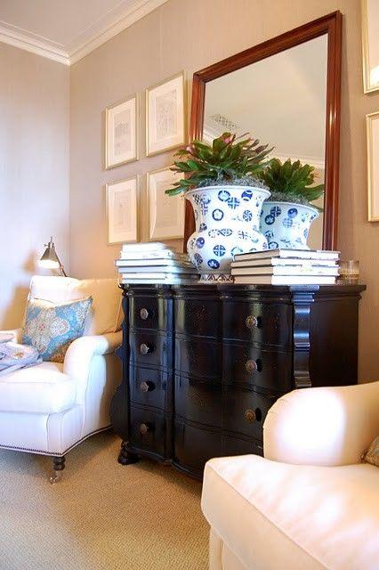 plant, mirror, dresser!!!!