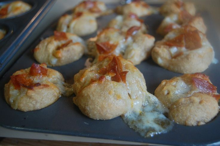 Pizza Balls--there's a recipe in the comments (author's recipe!) for ...