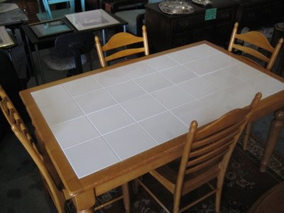 Tile Top Kitchen Table 150 Available At Creekside Park Warehouse
