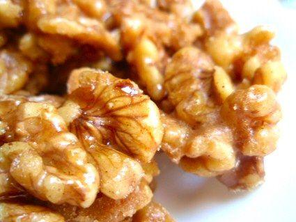 Maple Glazed Walnuts | gluten free recipes | Pinterest
