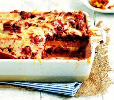 Easy Polenta Lasagna. | Crafts | Pinterest
