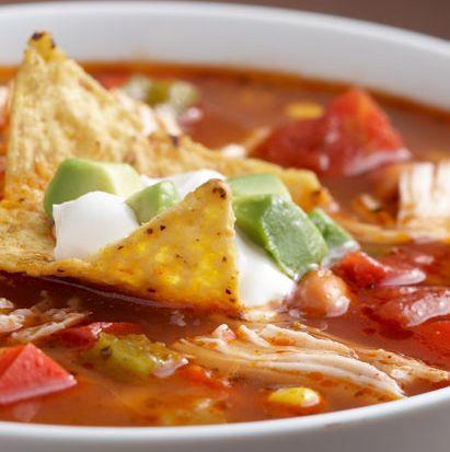 hcg-recipes-chicken-fajita-soup | Culinary Goodness | Pinterest