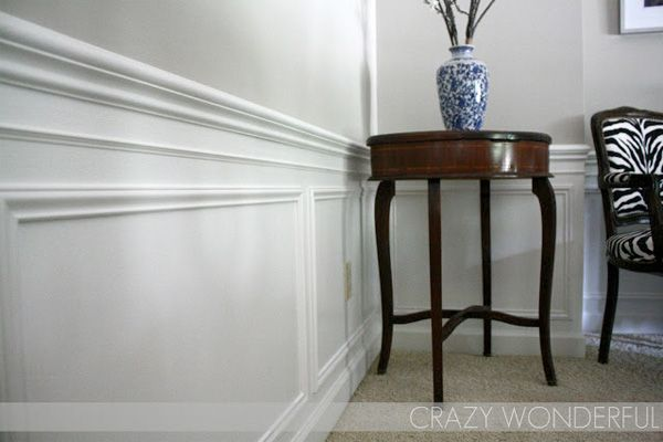 Chair rail molding for the home pinterest