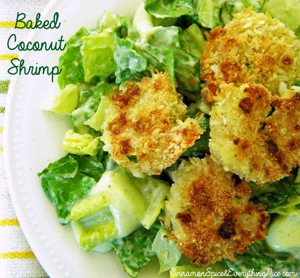 Baked Coconut Shrimp - MAKE MINI ADJUSTMENTS FOR HEALTHIER VERSION (EX ...
