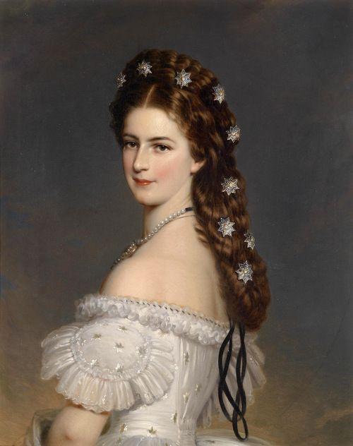 Франц Ксавьер Винтерхальтер (1805-1873) - императрицы Елизаветы Австрийской в танцах-платье (1865) - Подробнее