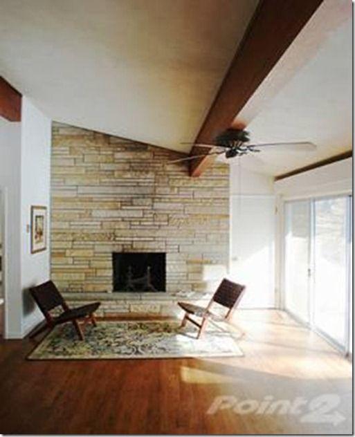 Mid Century Modern Fireplace H Pinterest