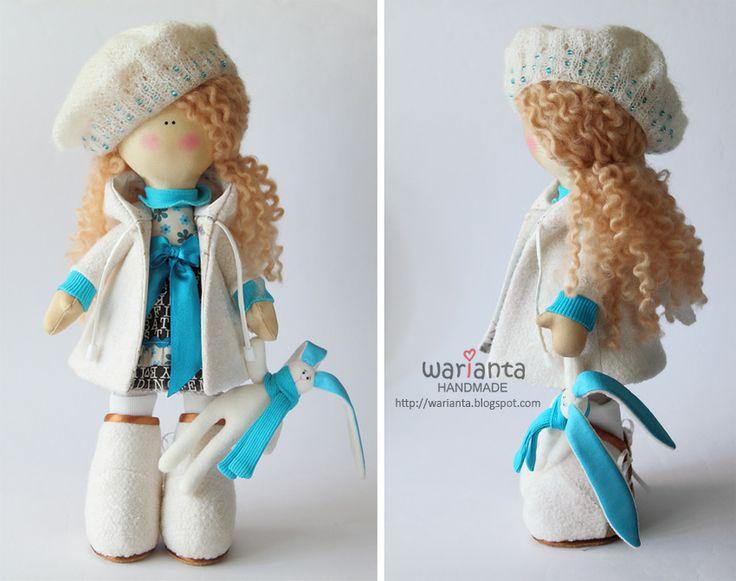 Куклы и игрушки ручной работы.  warianta ручной.