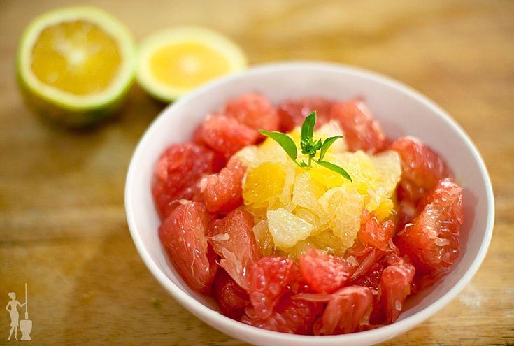 Cardamom Citrus Fruit Salad #food #recipe #salad #citrus_fruit_salad