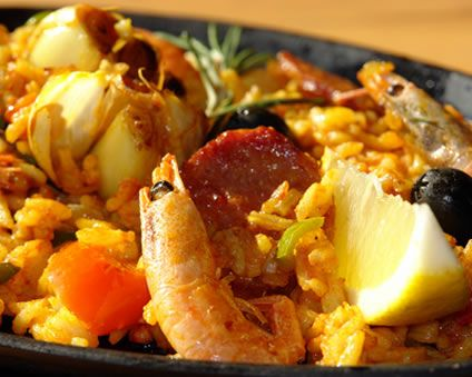 Shrimp & Chorizo Paella | MexicaN CuisinE To DiE FoR | Pinterest
