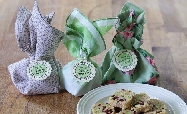 Pistachio Cranberry Icebox Cookies | Cookies, Cookies | Pinterest