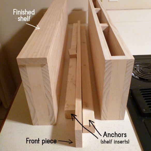 Floating Shelves | Kitchen Projects & Ideas | Pinterest