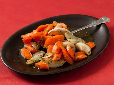 Honey-Lemon Glazed Carrots with Parsley