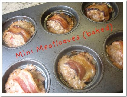 mini meatloaves in muffin tin | FOOD - Mouth Watering Main Dishes | P ...