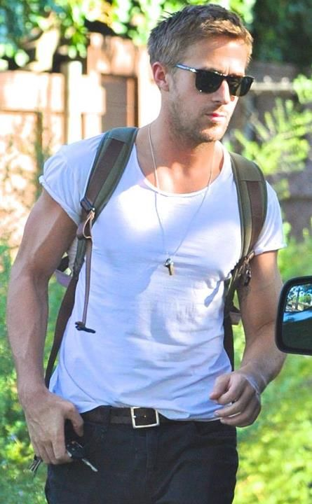 Los Angeles is a safer place right now because we know Ryan Gosling is out on streets. Would you like him to save your day?