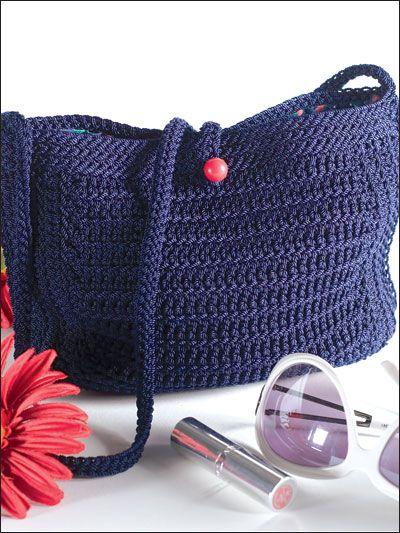 Free Crochet Patterns Using Nylon Thread : Nylon Crochet Purse Bags, totes, purses, etc., Crochet ...