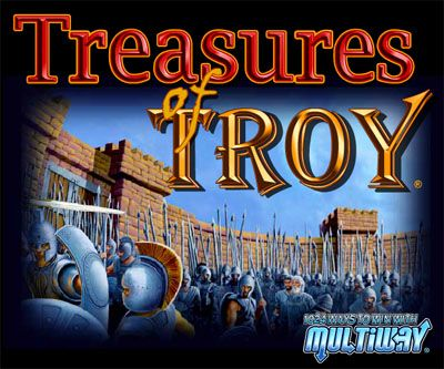 treasures of troy slot machine wins