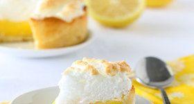 Mini Deep Dish Lemon Meringue Pies | Dessert | Pinterest