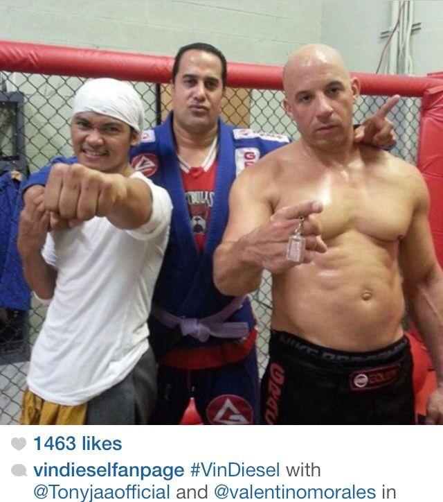 Vin DieselVin Diesel And Dwayne Johnson Height