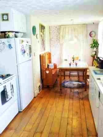 Long, Narrow 1850 Kitchen mid-remodel. | Kitchen ideas | Pinterest
