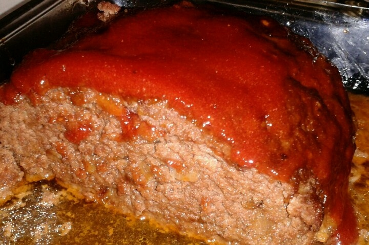 Meatloaf w/home made BBQ sauce | My Cooking | Pinterest