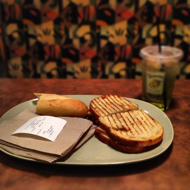 Smoked Turkey panini from Panera Bread | delish | Pinterest