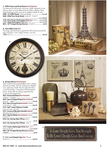 Country House Catalog