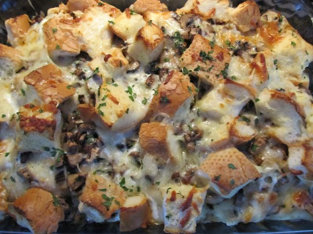 Savory Bread Pudding | Desserts and Sweets | Pinterest