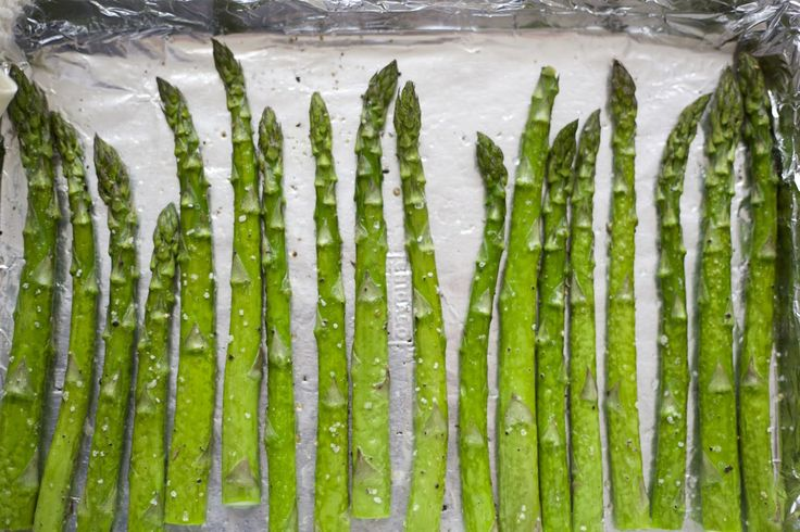 Simple Roasted Asparagus from @Barefeet In The Kitchen