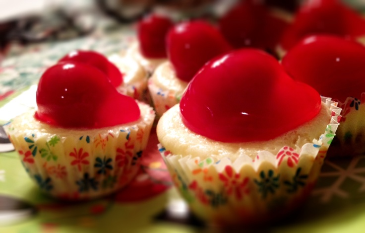 Mini Cherry Cheesecake Bites | Food and Drink | Pinterest