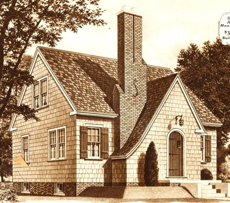 sears maplewood home 1930 1930s pinterest