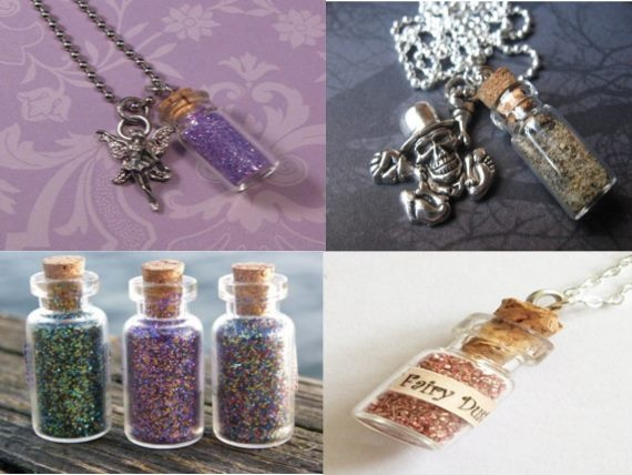Confessions of Crafty Witches How to make Fairy Bottles and Fairy Dust