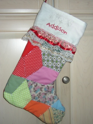 Quilted christmas stocking christmas stockings pinterest
