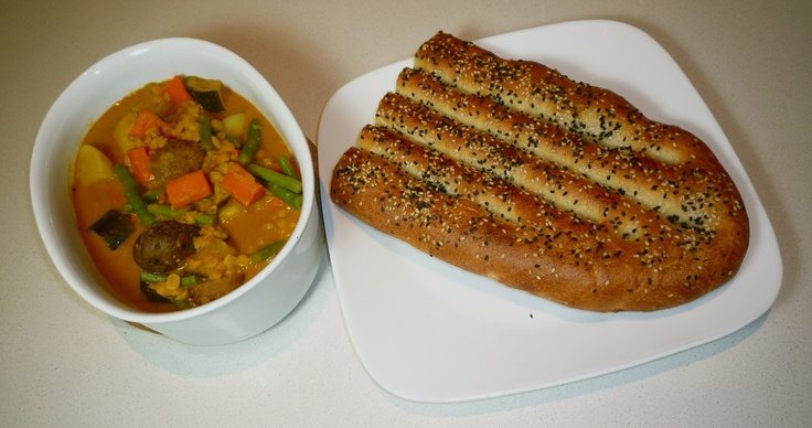 Dalcha - Malaysian Lentil Curry with Vegetables by Recipe Relay