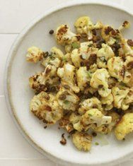 Roasted Cauliflower with Cheddar -- Everyday Food September 2010